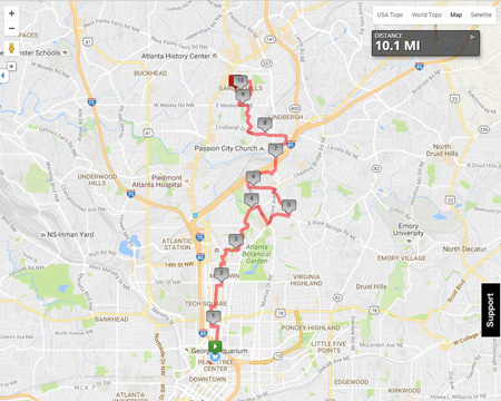 2016 2-Day Route Released!
