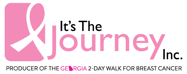It's The Journey, Inc.  The Georgia 2-Day Walk for Breast Cancer