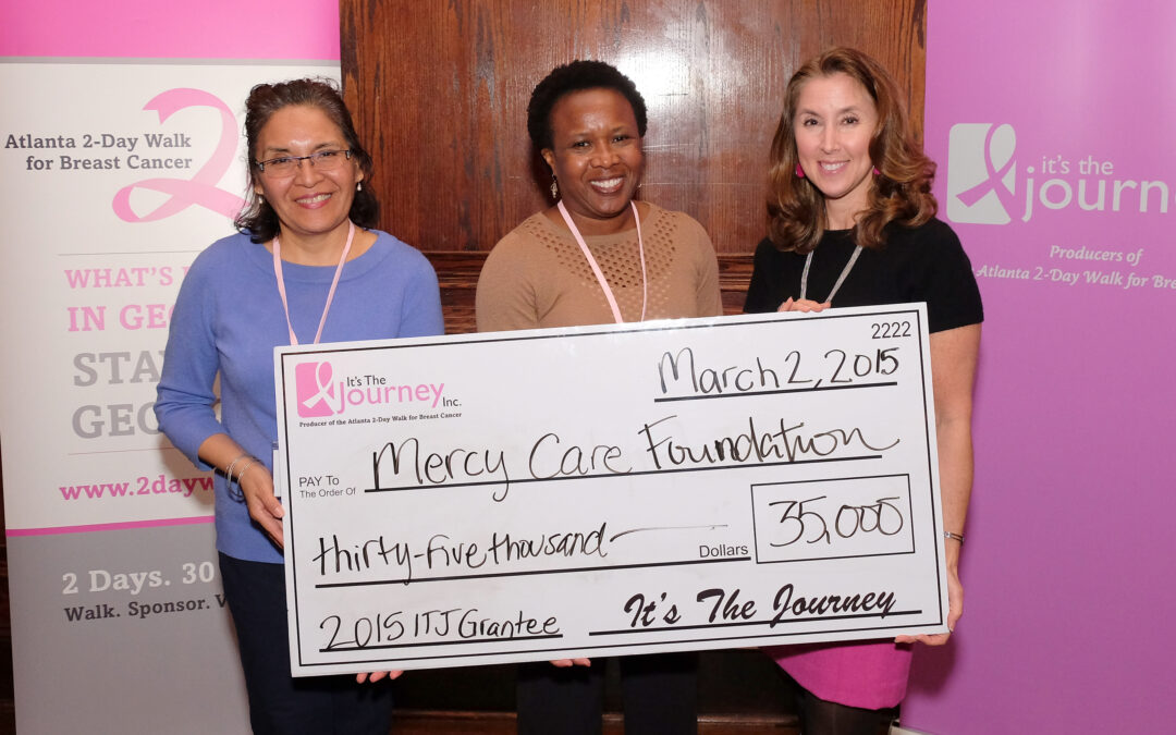 IT'S THE JOURNEY AWARDS $820,000 TO GEORGIA BREAST CANCER PROGRAMS